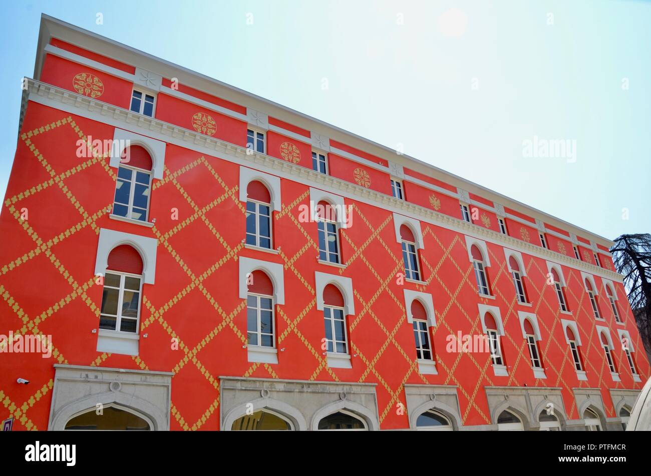the ministry of agriculture tirana albania - Stock Image