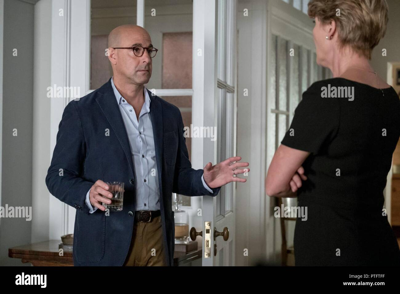 THE CHILDREN ACT (2017)  STANLEY TUCCI  EMMA THOMPSON  RICHARD EYRE (DIR)  TOLEDO/MOVIESTORE COLLECTION LTD - Stock Image