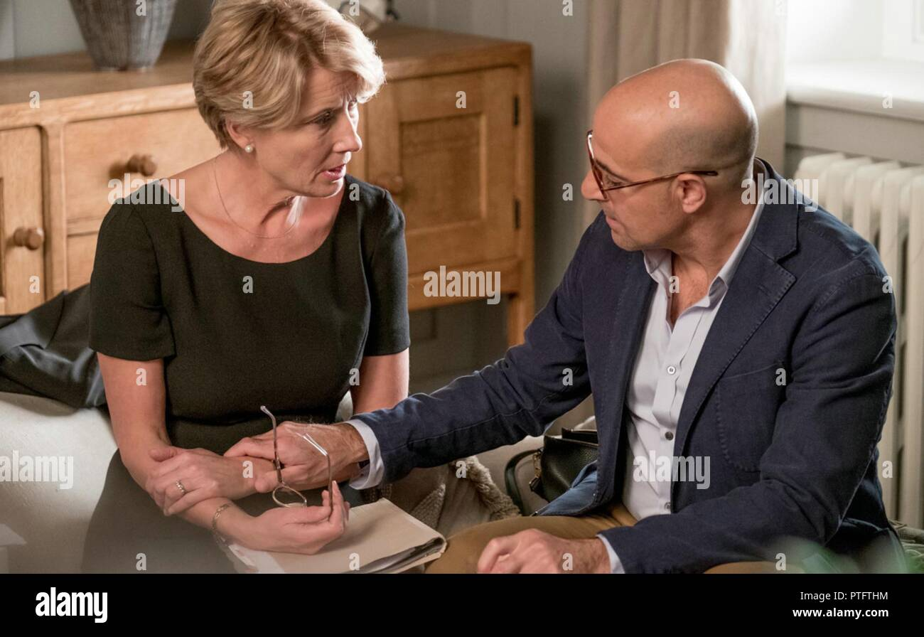 THE CHILDREN ACT (2017)  EMMA THOMPSON  STANLEY TUCCI  RICHARD EYRE (DIR)  TOLEDO/MOVIESTORE COLLECTION LTD - Stock Image