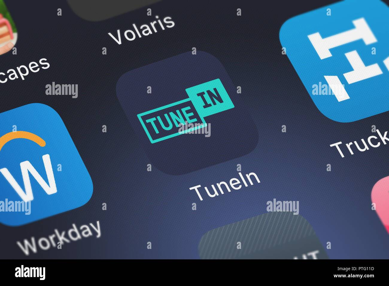 Tunein Radio Stock Photos & Tunein Radio Stock Images - Alamy