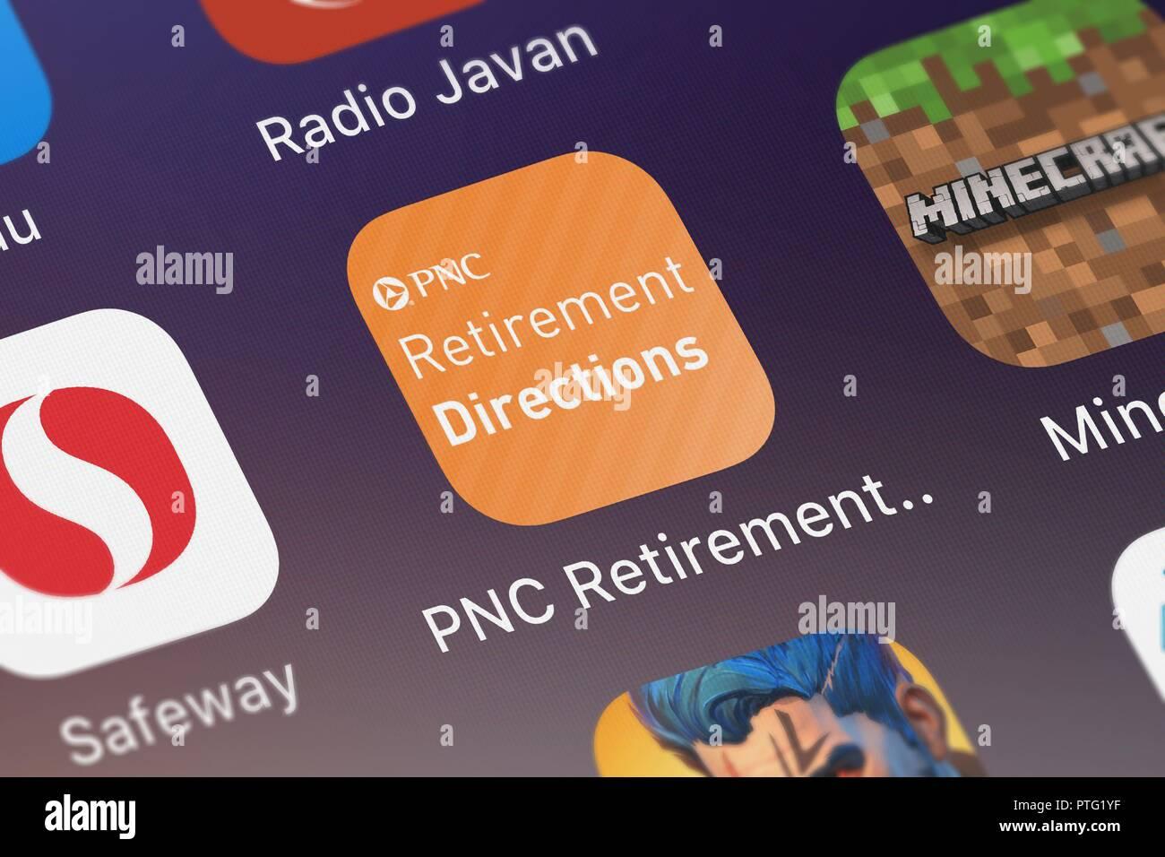 Pnc Retirement Directions Stock Photos & Pnc Retirement Directions