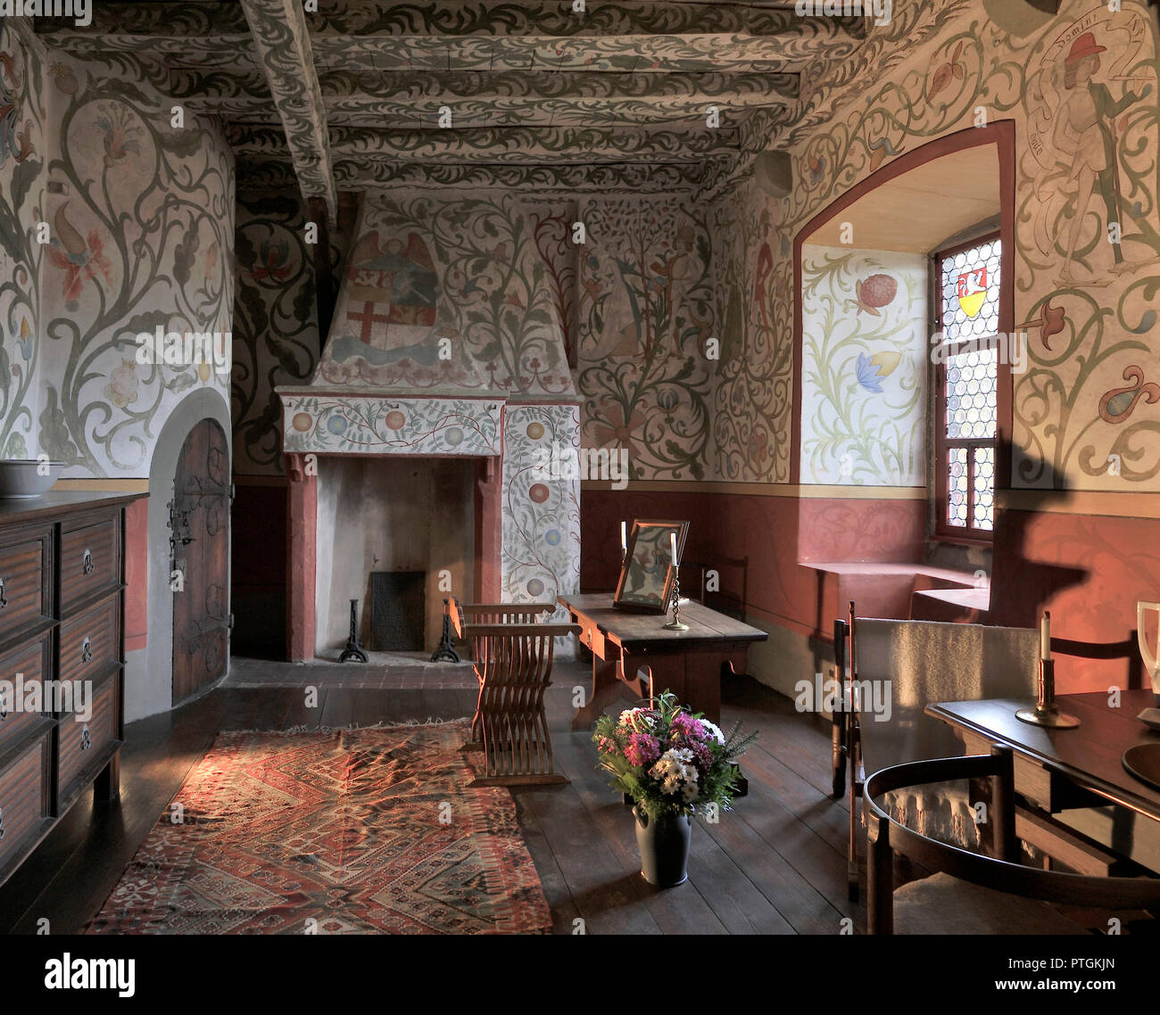 Wierschem Burg Eltz Ankleidezimmer Stock Photo 221642813 Alamy