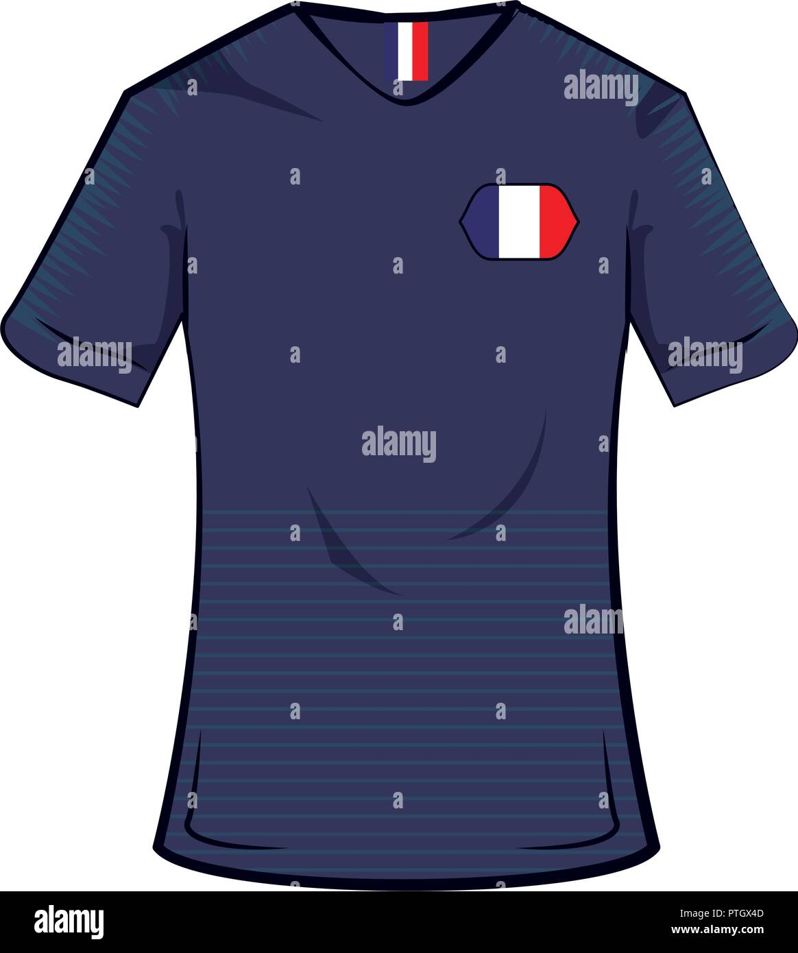 hot sale online 6ae92 2254a France National Football Team Kit Stock Photos & France ...
