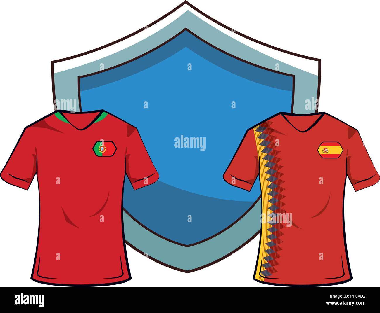 Spain Soccer Badge High Resolution Stock Photography And Images Alamy