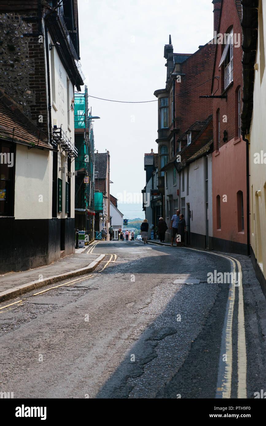 Lewes back street #1 Stock Photo