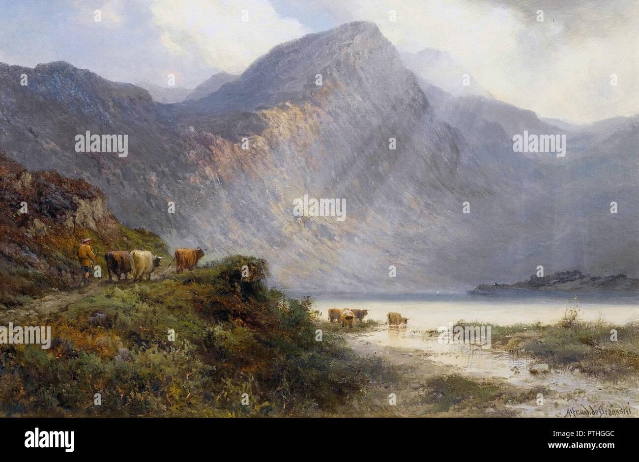 Breanski I  Alfred De - Loch Shin  Sutherlandshire Stock Photo