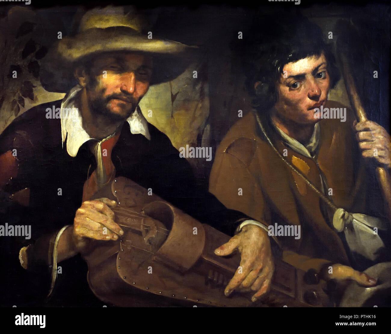 Blind Hurdy - Gurdy Man 1640 Francisco Herrera the Elder (1576–1656) 17th 2c14adea990d6