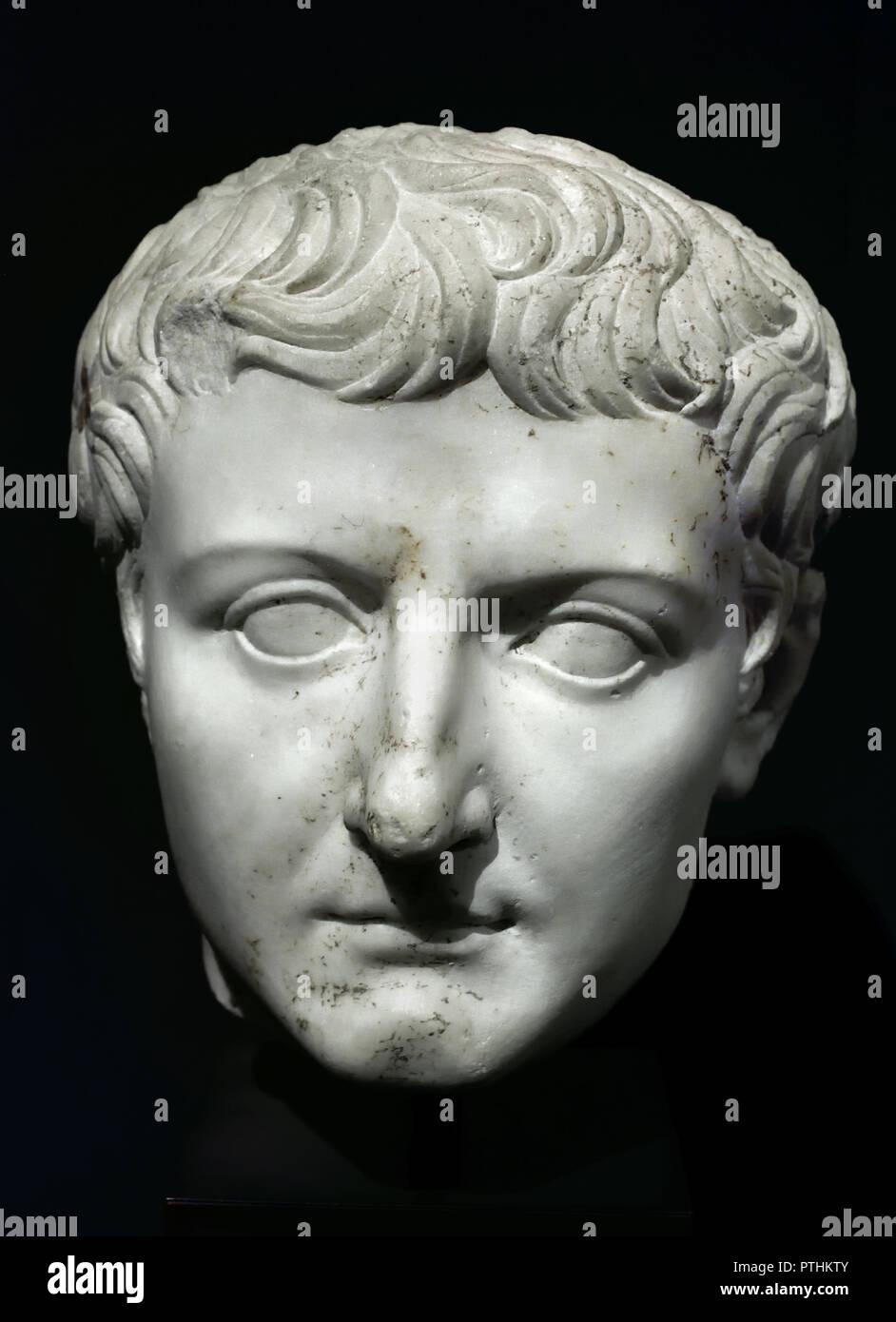 Emperor Tiberius Stock Photos Amp Emperor Tiberius Stock