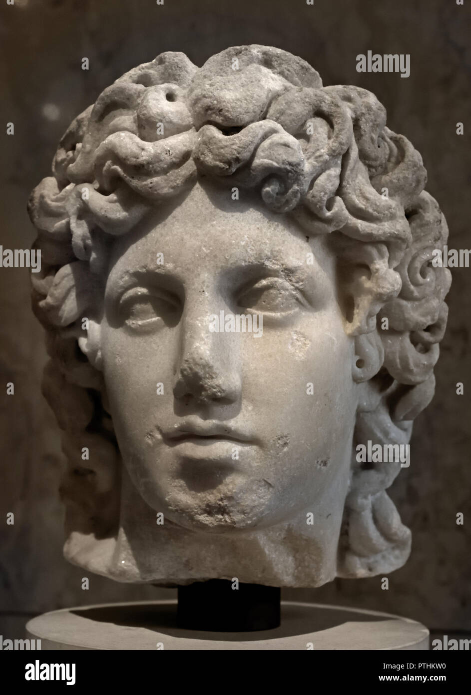 Apollo 2nd Century Ad After Greek Original Of The 4th Bc God Of Music Poetry Arts Oracles Archery Herds And Flocks Diseases Healing Light Sun And Knowledge Stock Photo Alamy