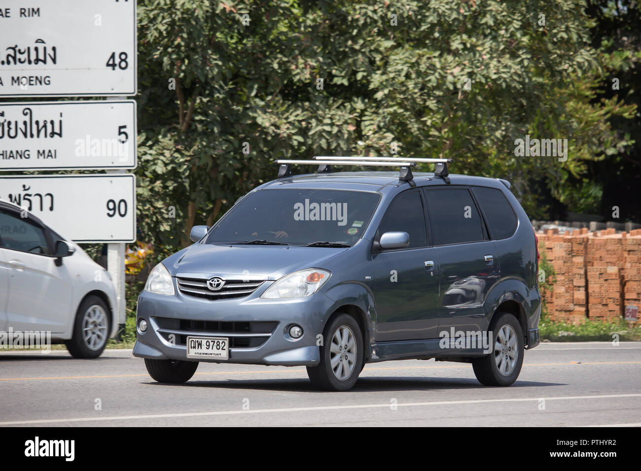 Avanza Stock Photos Images Alamy 1 Roof Rack Chiangmai Thailand September 17 2018 Private Toyota Car Mini Suv