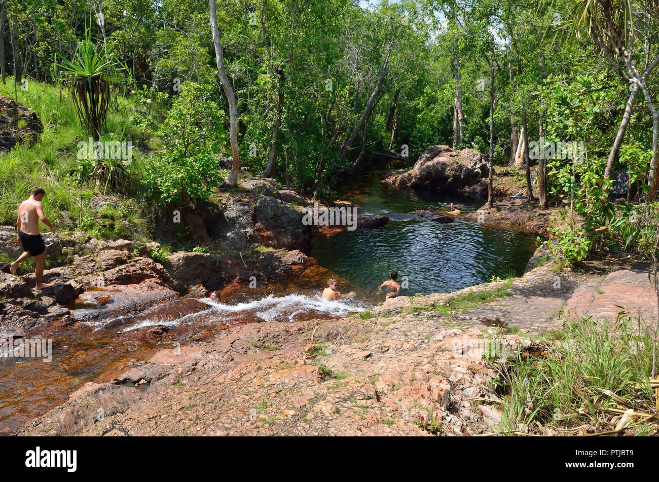 Buley Rockholes, Litchfield National Park, Northern Territory, Australia Stock Photo