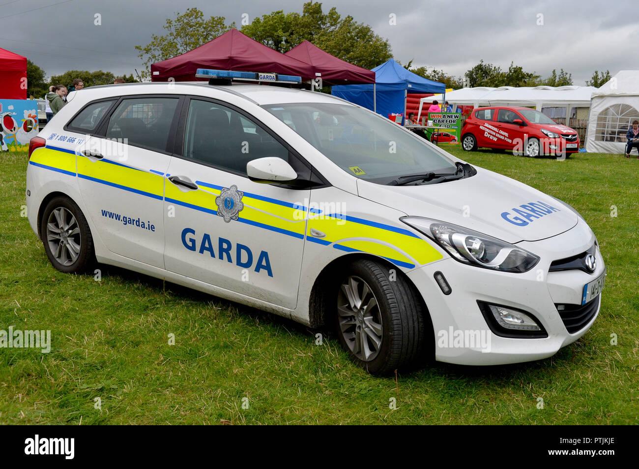 Garda Irish Police Hyundai I30 Patrol Car With Insignia