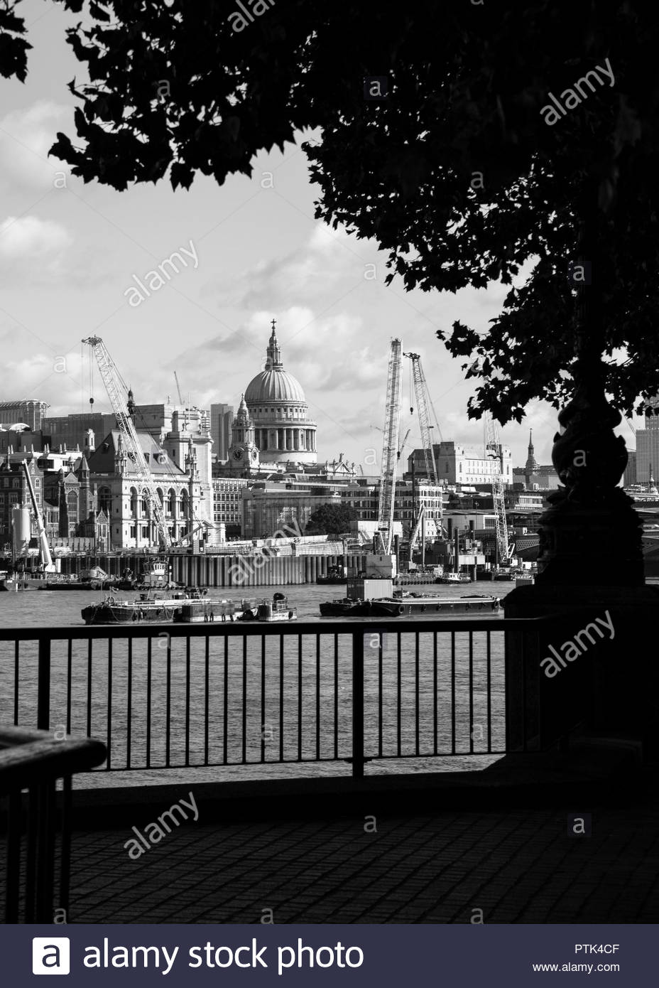 St Paul's Cathedral, London - Stock Image