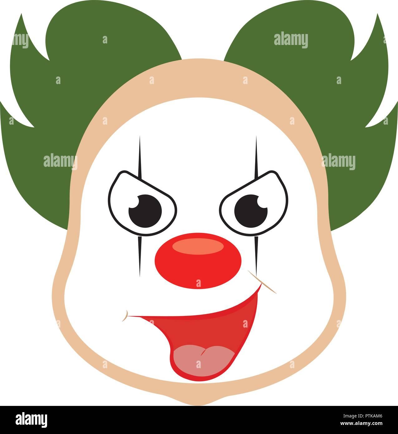 Dessin Visage Halloween.Cartoon Halloween Mask Stock Vector Image Art Alamy