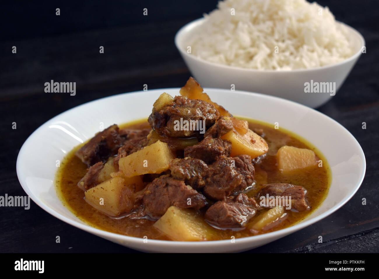 Rogan Josh (Lamb Curry) - Stock Image