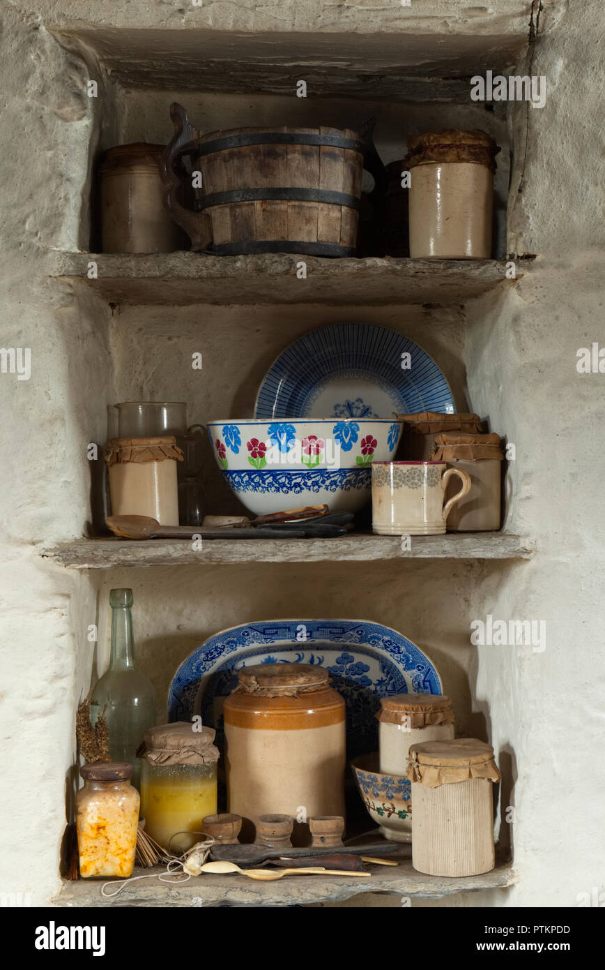 Corrigall Farm Museum, Orkney isles - Stock Image