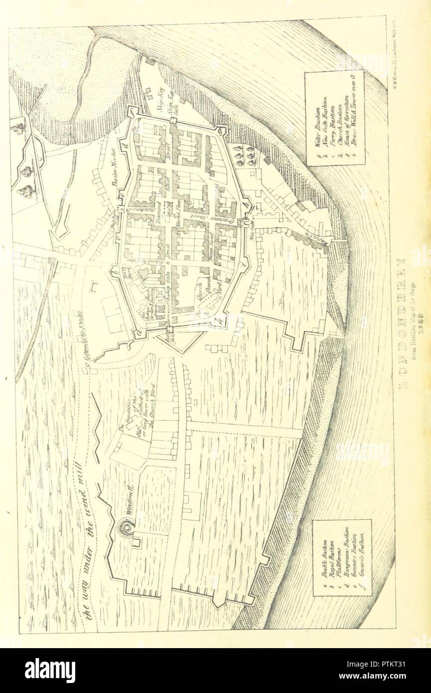 Map Of Ireland Showing Athlone.Page 52 Of The History Of The Williamite And Jacobite Wars In
