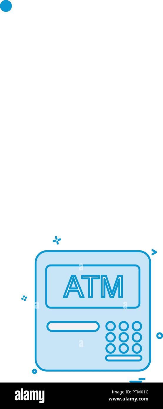 Atm Card Slot Icon Finance Stock Photos & Atm Card Slot Icon