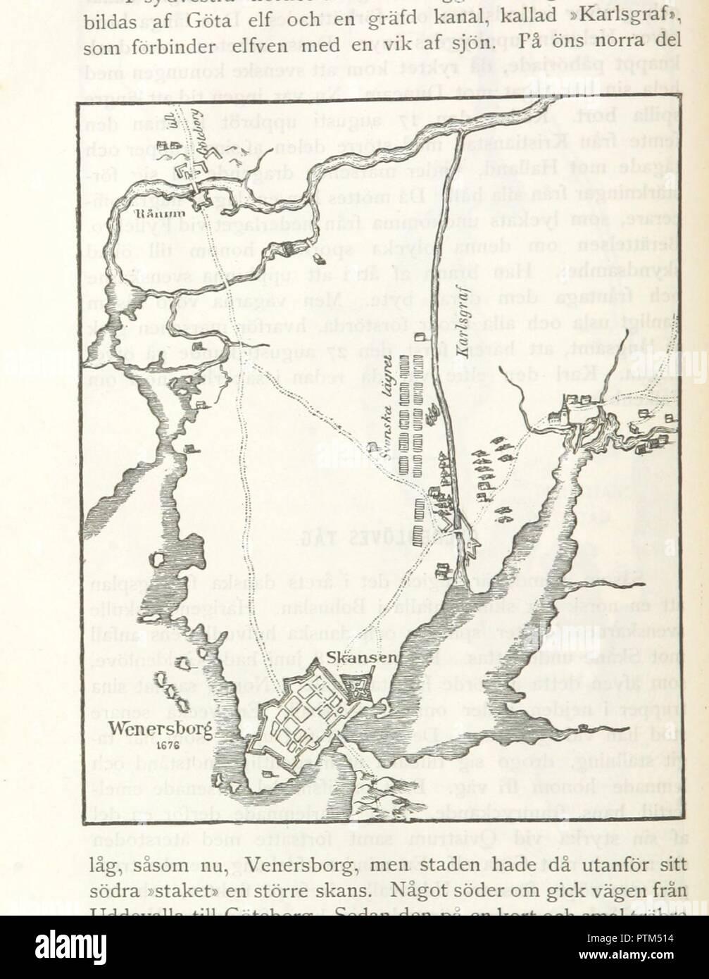 Karta Sodra Danmark.Page 112 Of Kriget Mot Danmark 1675 1679 Med Portratt Kartor