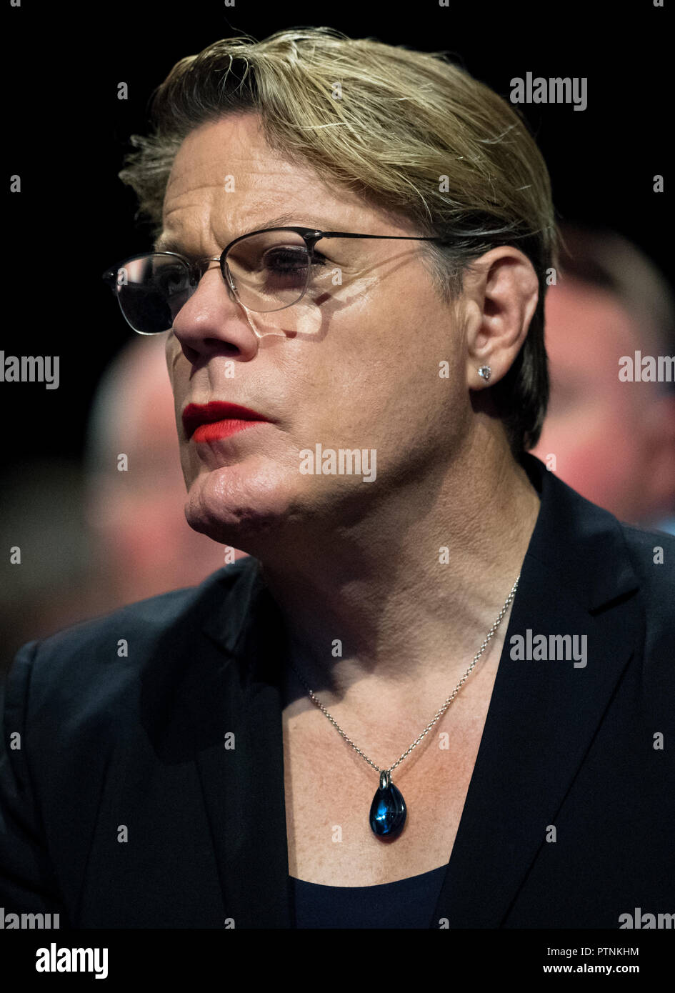 Eddie Izzard at the Labour Party annual conference 2018, Liverpool. Stock Photo
