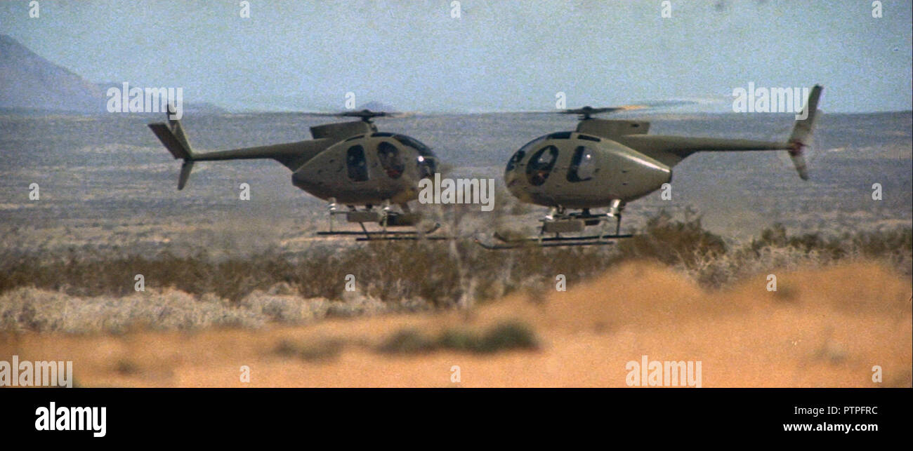 Prod DB © ITC-AGF / DR CAPRICORN ONE de Peter Hyams 1978 USA/GB face a face; face to face; combat aerien; aerial battle; helicoptere; helicopter - Stock Image