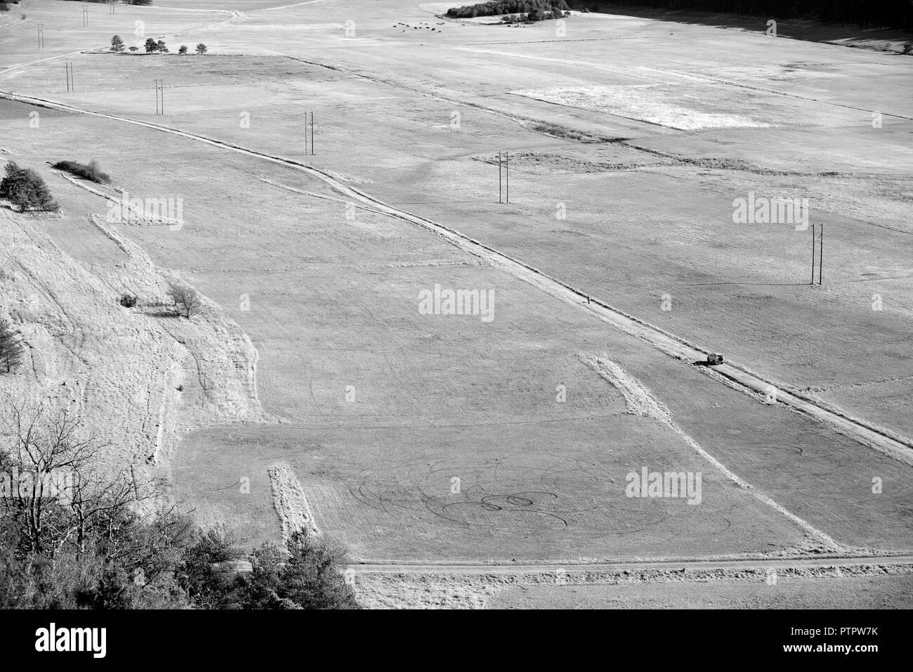 Plaine de Caille, Alpes Maritimes, 06, PACA, France - Stock Image