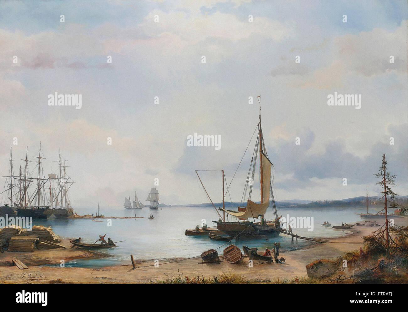 Bennetter  Johan Jacob - Fra Larkollen - Stock Image