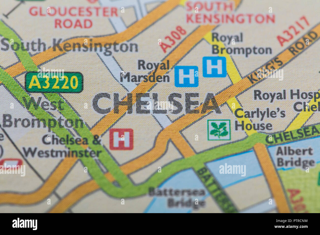 London Map Location.London Borough Of Chelsea Location Map Stock Photo 221791072 Alamy