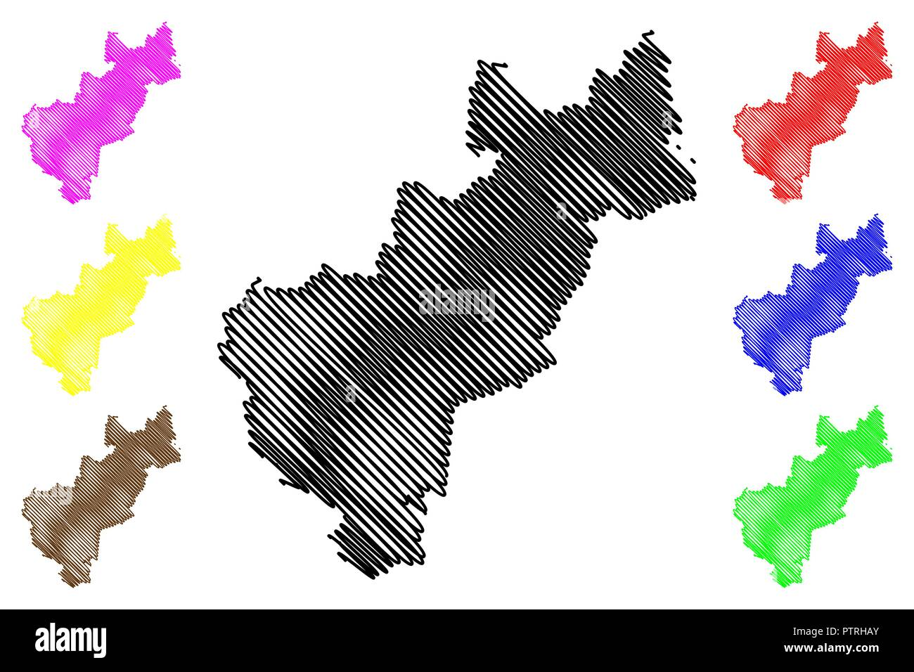 Queretaro (United Mexican States, Mexico, federal republic) map ...