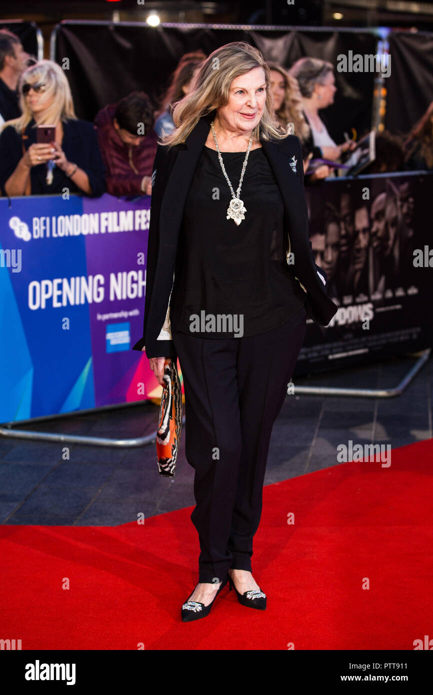 London, UK. 10th Oct 2018. Ann Mitchell at Widows Premiere and opening night of the 62nd BFI London Film Festival 2018 on Wednesday 10th October, 2018 at Cineworld, Leicester Square, London, ENGLAND. Credit: Tom Rose/Alamy Live News - Stock Image