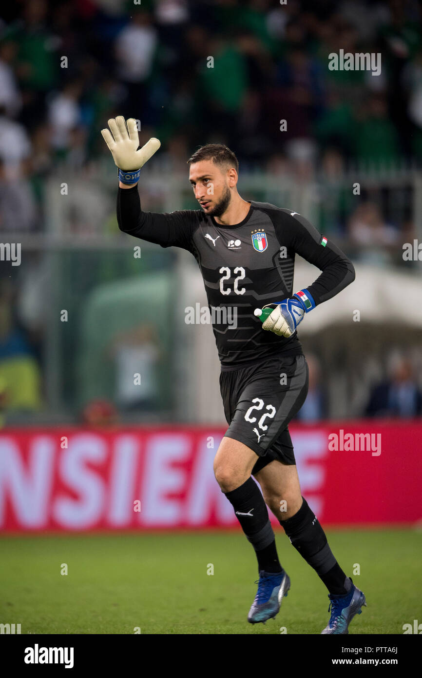 Gianluigi Donnarumma Italy During The Uefa Nations League Friendly Match Between Italy 1 1 Ukraine At
