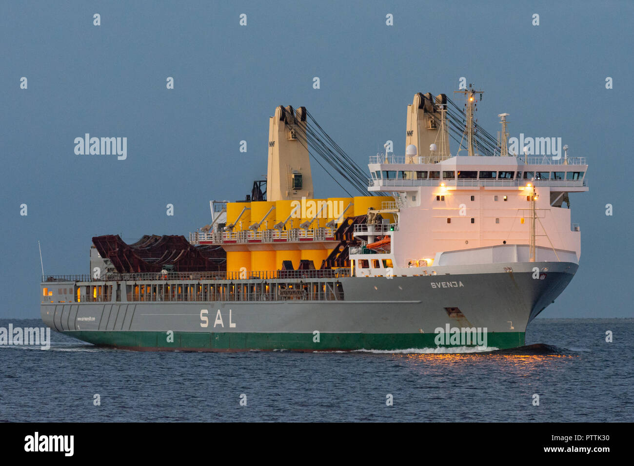 SAL's Heavy-lift ship SvenjaStock Photo