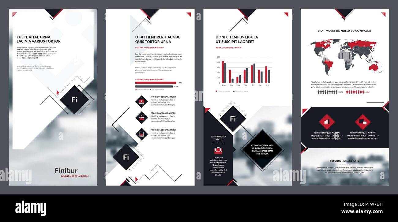 Elements Of Infographics For Flyer Template Brochure Template And