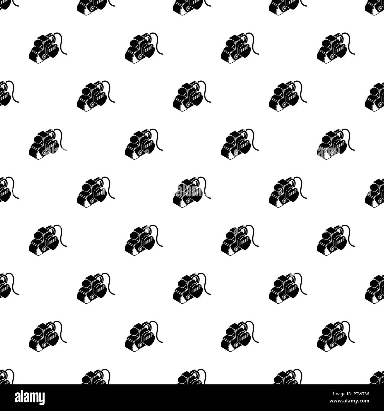 Power tool pattern vector seamless - Stock Image