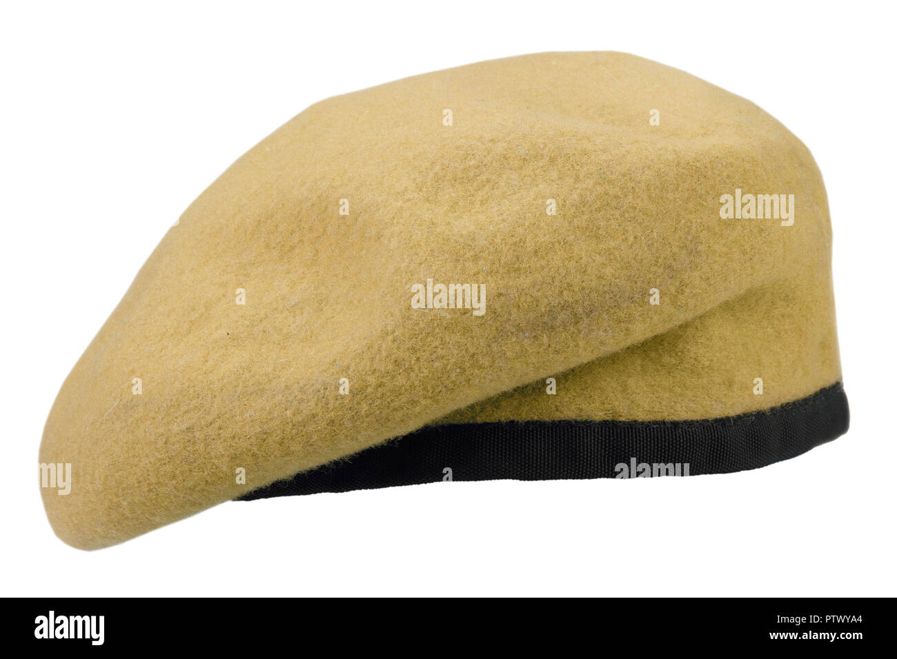 b525cd727a military troops yellow beret isolated Stock Photo  221846412 - Alamy