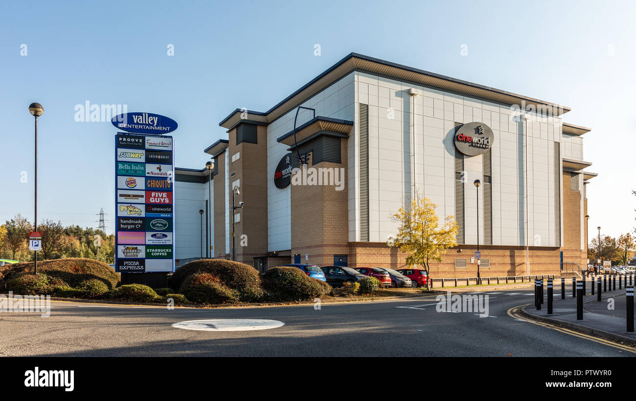 Valley Centertainment With Cineworld Cinema New Meadowhall