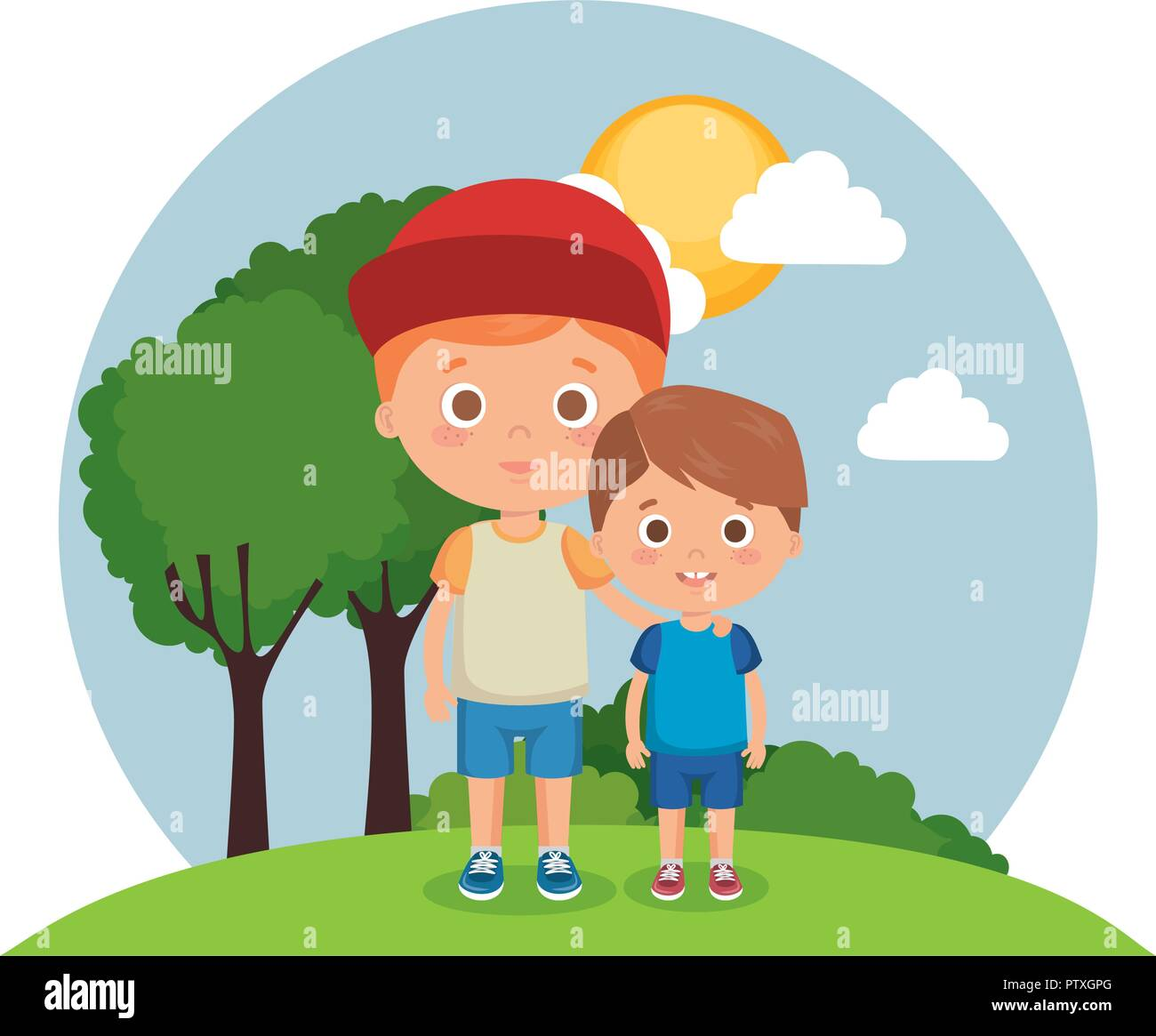 Funny Cartoon Images Of Boys smiling funny cartoon sun stock photos & smiling funny