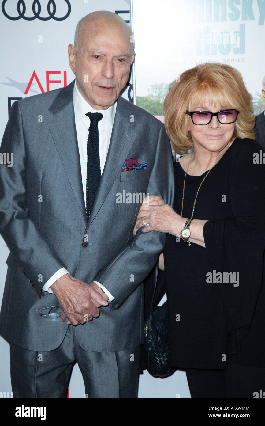 Tcl Chinese Theatre, USA. 12th Sep, 2018. Alan Arkin and Ann-Margret attend the Gala Screening of 'The Kominsky Method' at AFI FEST 2018 Presented By Audi at TCL Chinese Theatre on November 10, 2018 in Hollywood, California. Credit: The Photo Access/Alamy Live News - Stock Image