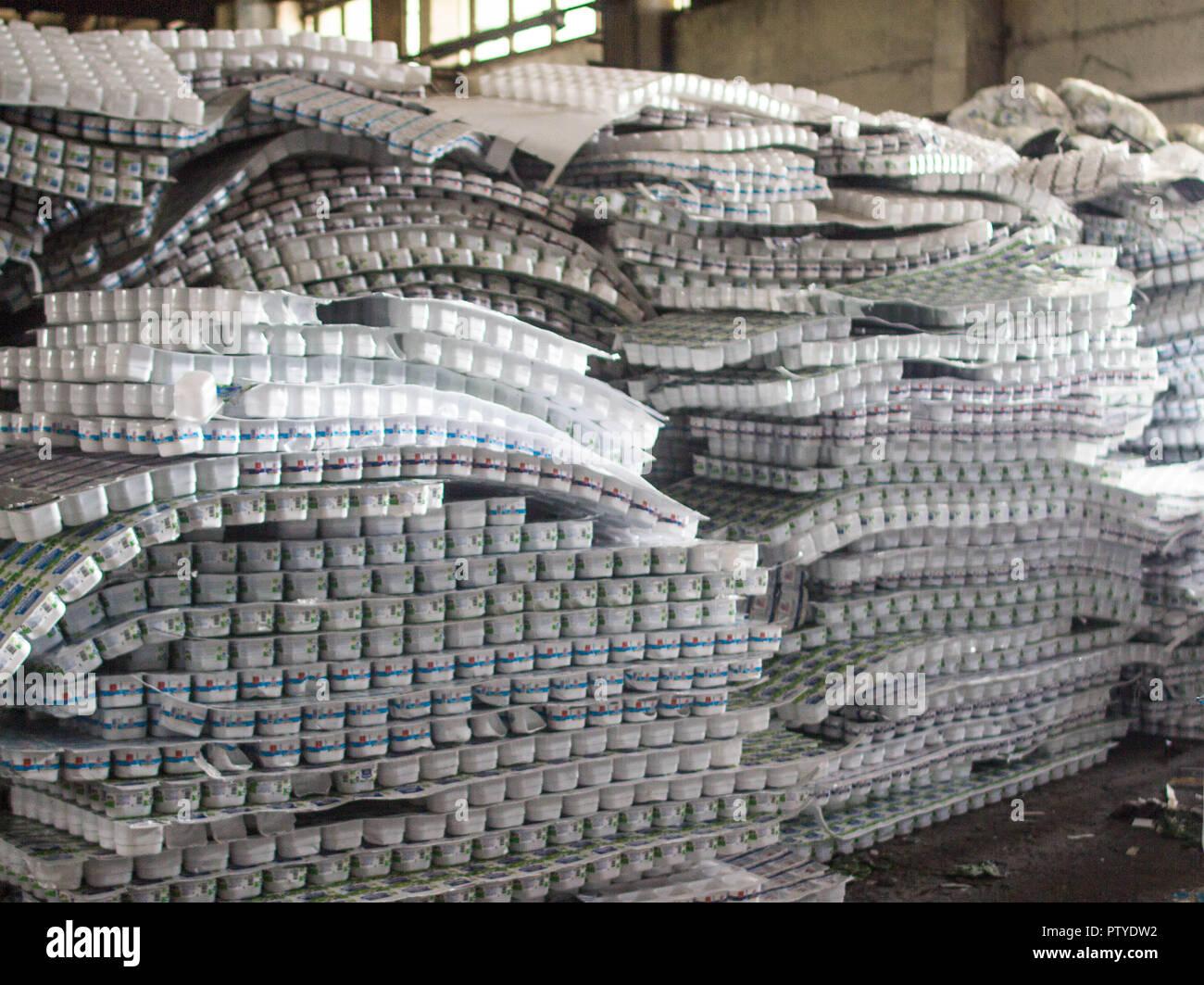 Hazardous Waste Landfill Stock Photos & Hazardous Waste