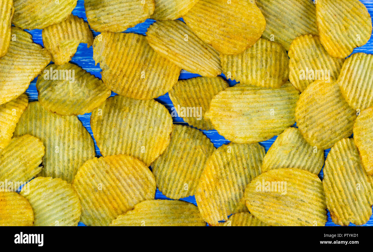 Background of chips - Stock Image