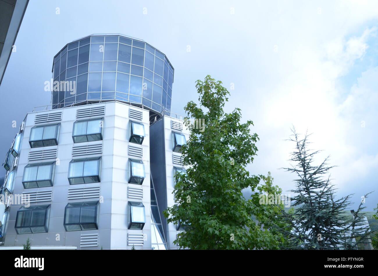 dajti tower hotel tirana albania - Stock Image