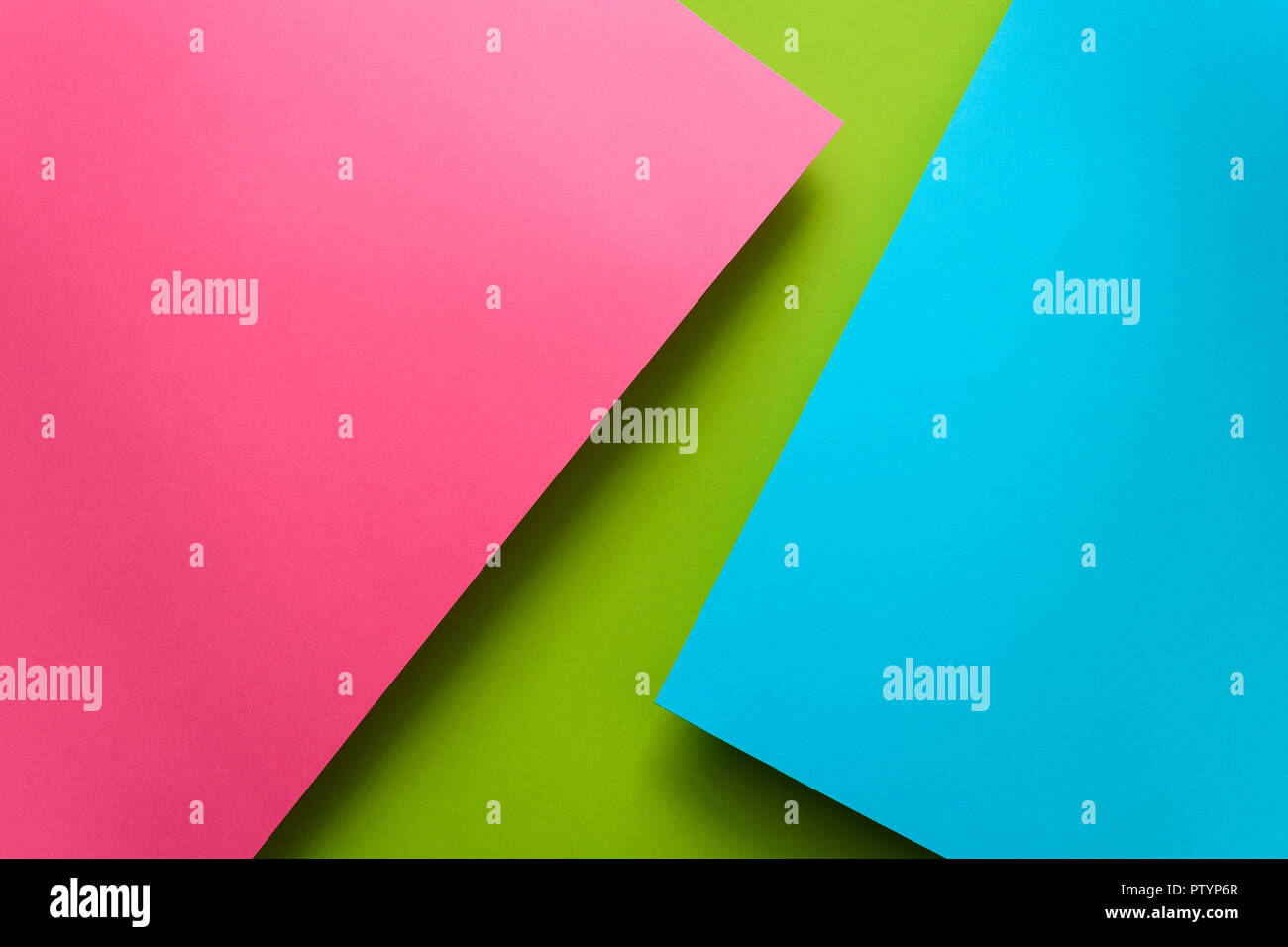 Couleur Bleu Vert Pastel blue, green and pink pastel colored paper background. volume