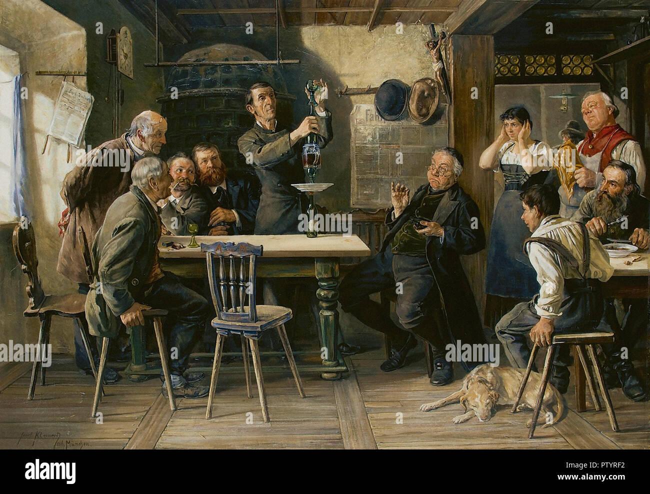 Kleinert Joseph Edgar - Een Kunststuk - Stock Image
