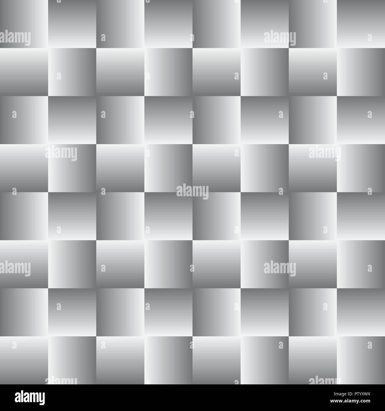 3d geometric pattern. Abstract gray seamless background - Stock Vector
