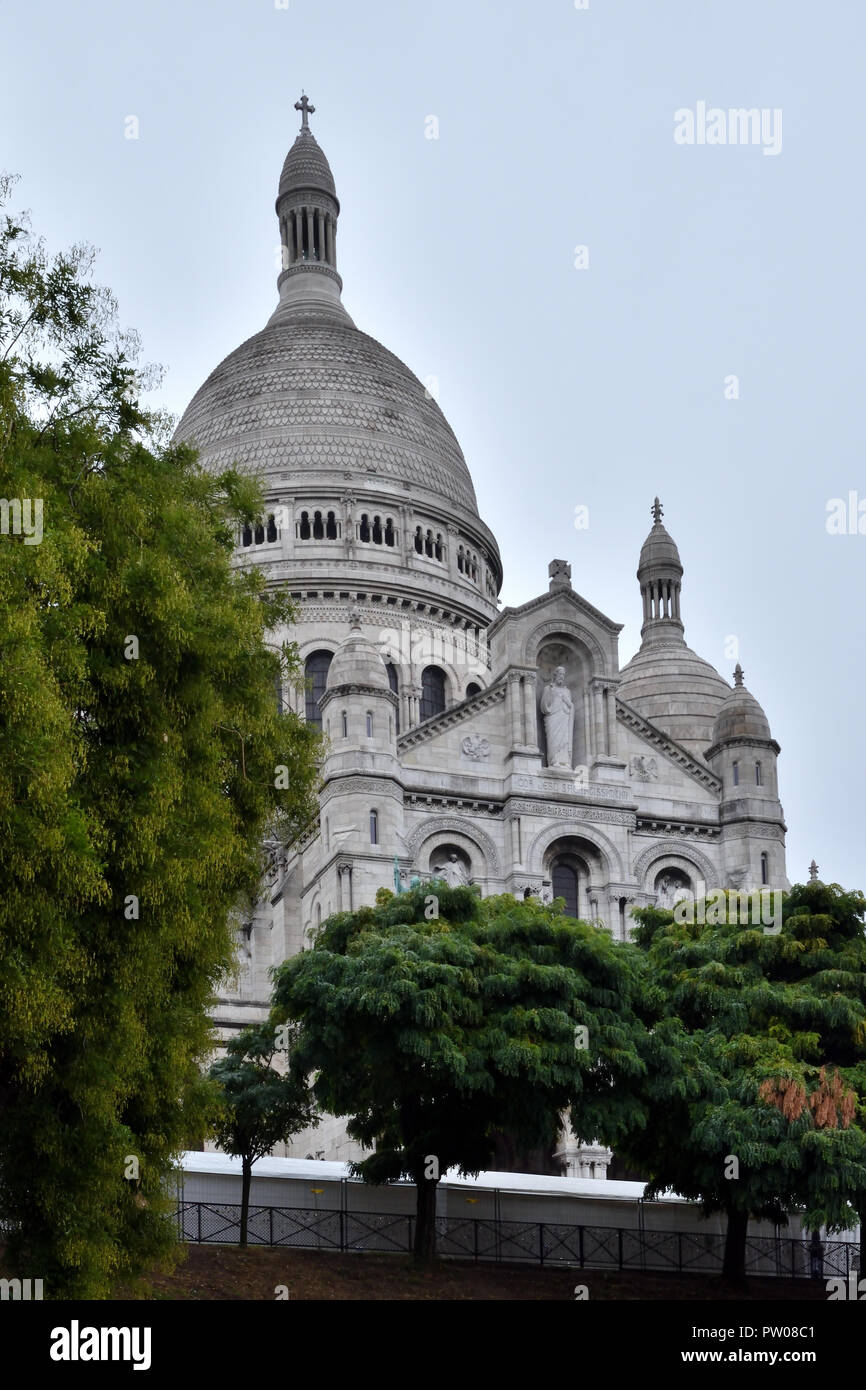 The Sacré-Coeur at Montmartre Stock Photo:
