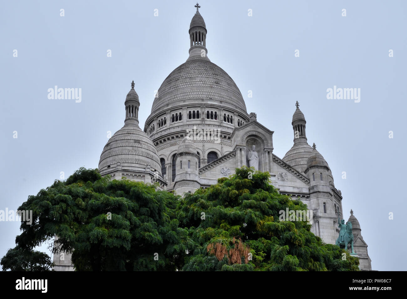 The Sacré-Coeur at Montmartre Stock Photo: