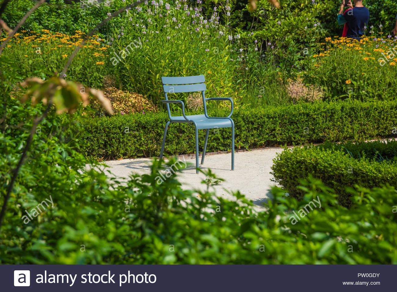 Amsterdam, Rijksmuseum, Garten, Garden - Stock Image