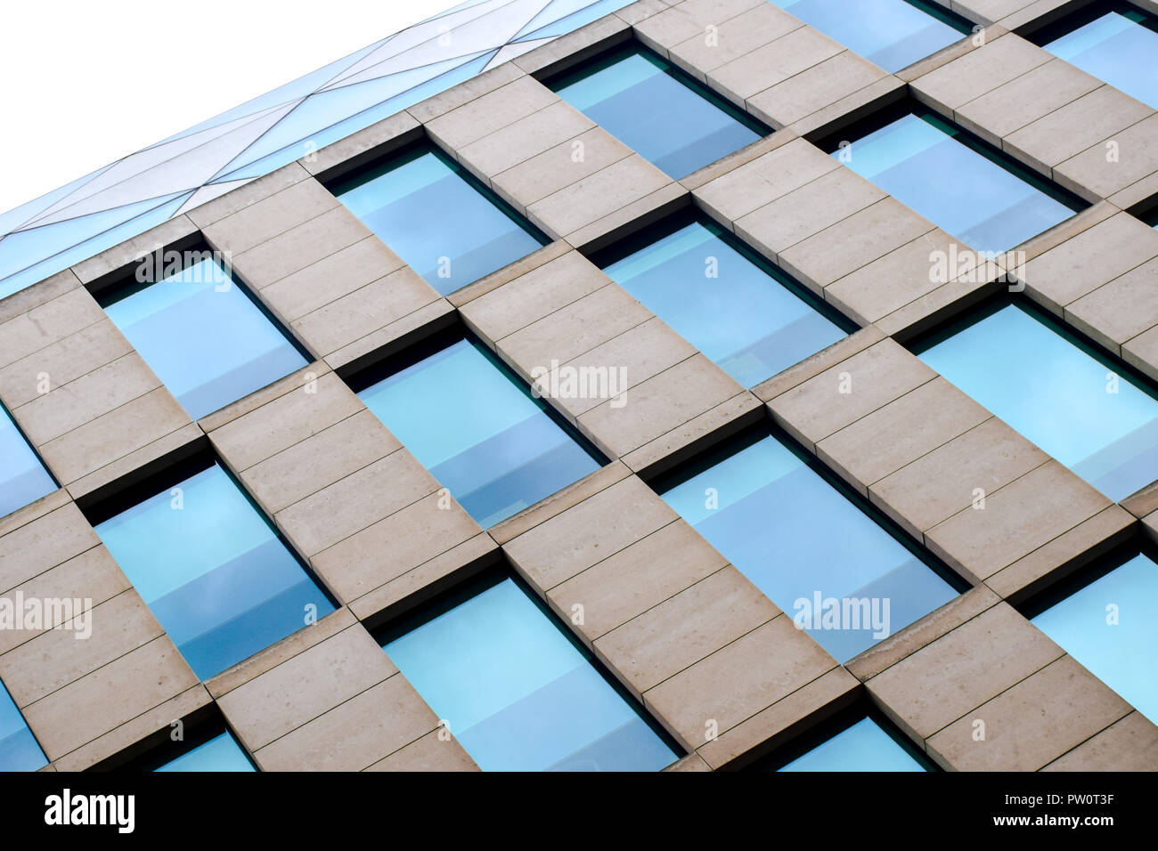100 Wood Street in London, by Sir Norman Foster and Partners - Stock Image