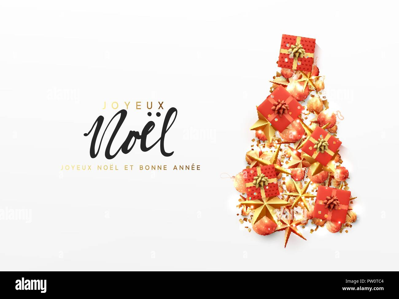 Www Joyeux Noel.French Text Joyeux Noel Christmas Greeting Card Creative
