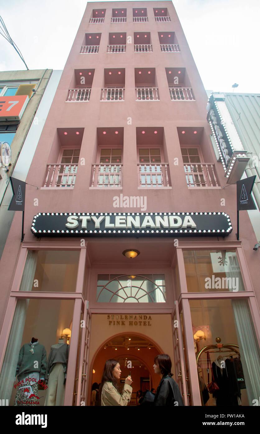 Style Nanda, Oct 4, 2018  Style Nanda Pink Hotel, a